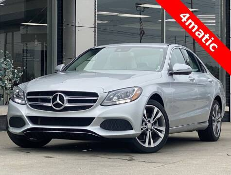 2016 Mercedes-Benz C-Class for sale at Carmel Motors in Indianapolis IN