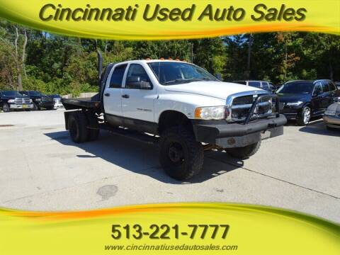 2003 Dodge Ram Pickup 3500 for sale at Cincinnati Used Auto Sales in Cincinnati OH