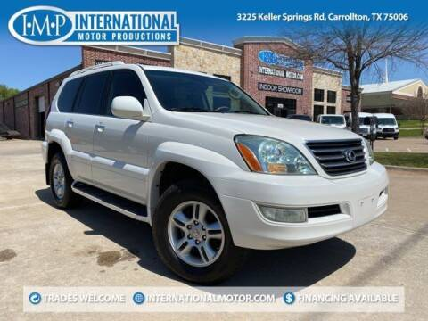 2007 Lexus GX 470 for sale at International Motor Productions in Carrollton TX