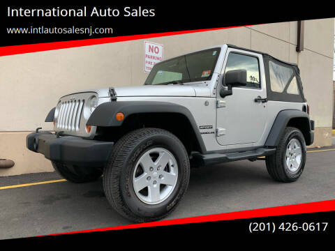 2011 Jeep Wrangler for sale at International Auto Sales in Hasbrouck Heights NJ