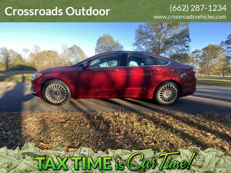 2013 Ford Fusion for sale at Crossroads Outdoor in Corinth MS