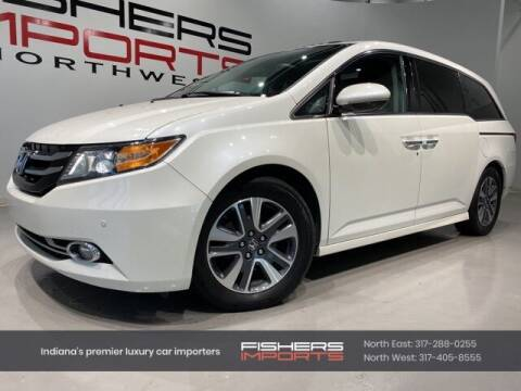 2014 Honda Odyssey for sale at Fishers Imports in Fishers IN