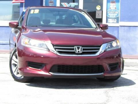 2013 Honda Accord for sale at VIP AUTO ENTERPRISE INC. in Orlando FL