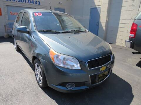2010 Chevrolet Aveo for sale at Small Town Auto Sales in Hazleton PA