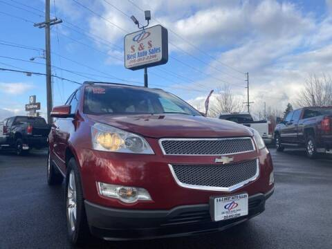 2012 Chevrolet Traverse for sale at S&S Best Auto Sales LLC in Auburn WA