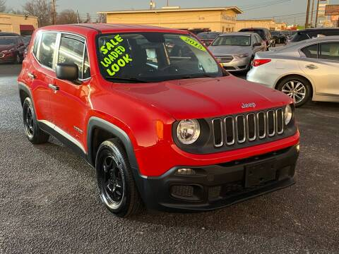 2015 Jeep Renegade for sale at Cow Boys Auto Sales LLC in Garland TX