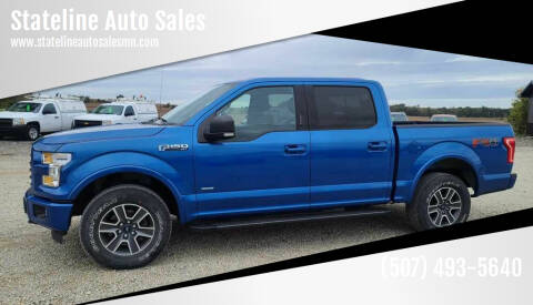 2016 Ford F-150 for sale at Stateline Auto Sales in Mabel MN