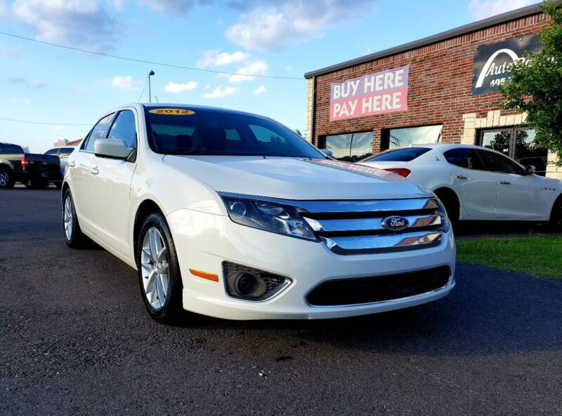 2012 Ford Fusion for sale at AUTO BARGAIN, INC. #2 in Oklahoma City OK