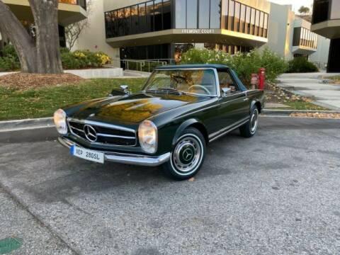 1969 Mercedes-Benz SL-Class for sale at Classic Car Deals in Cadillac MI