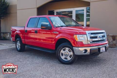 2014 Ford F-150 for sale at Mcandrew Motors in Arlington TX