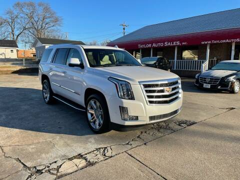 2018 Cadillac Escalade for sale at Taylor Auto Sales Inc in Lyman SC