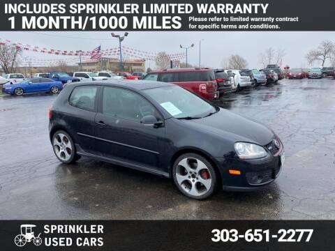 2009 Volkswagen GTI for sale at Sprinkler Used Cars in Longmont CO