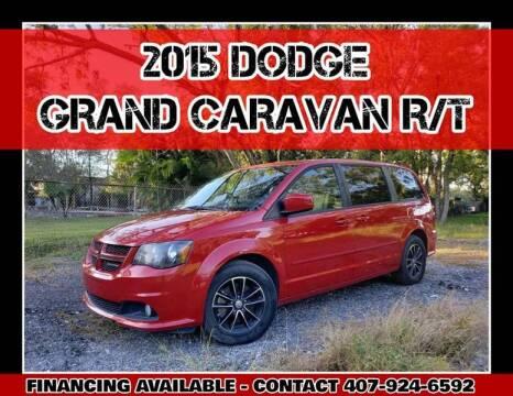 2015 Dodge Grand Caravan for sale at AFFORDABLE ONE LLC in Orlando FL