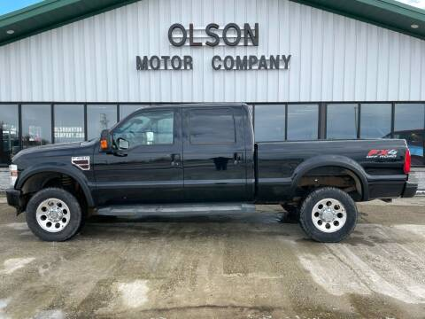 2008 Ford F-250 Super Duty for sale at Olson Motor Company in Morris MN