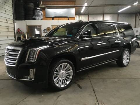 2016 Cadillac Escalade ESV for sale at T James Motorsports in Gibsonia PA
