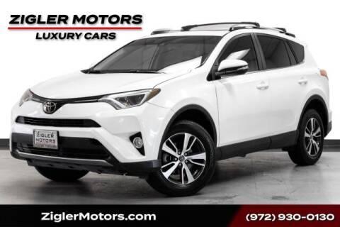 2017 Toyota RAV4 for sale at Zigler Motors in Addison TX
