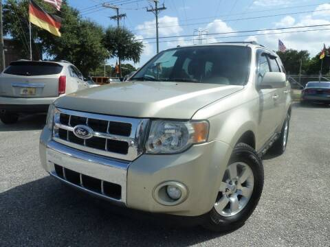 2012 Ford Escape for sale at Das Autohaus Quality Used Cars in Clearwater FL
