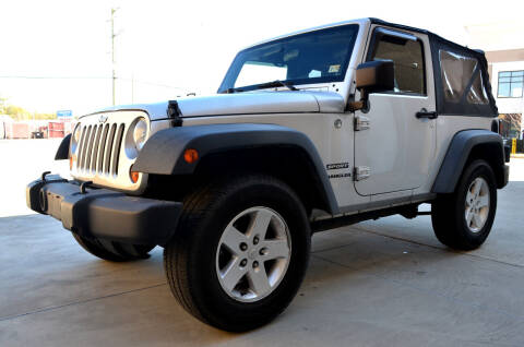 2012 Jeep Wrangler for sale at Wheel Deal Auto Sales LLC in Norfolk VA