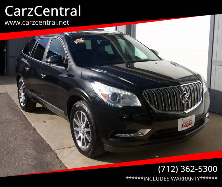 2013 Buick Enclave for sale at CarzCentral in Estherville IA