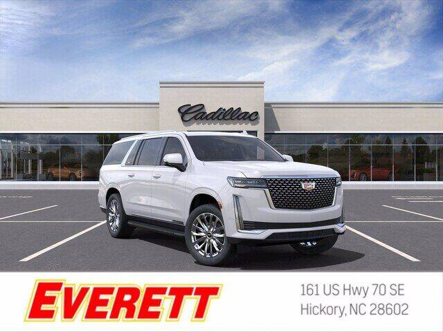 2021 Cadillac Escalade ESV for sale at Everett Chevrolet Buick GMC in Hickory NC