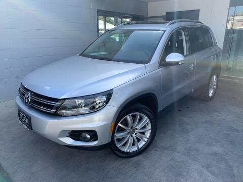 2012 Volkswagen Tiguan for sale at Allen Motors, Inc. in Thousand Oaks CA