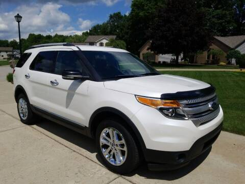 2013 Ford Explorer for sale at Country Auto Sales in Boardman OH