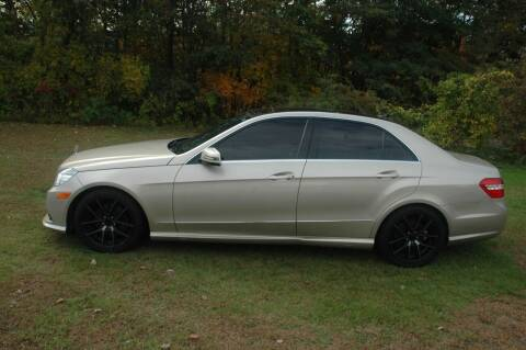 2010 Mercedes-Benz E-Class for sale at Bruce H Richardson Auto Sales in Windham NH