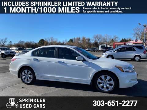 2010 Honda Accord for sale at Sprinkler Used Cars in Longmont CO