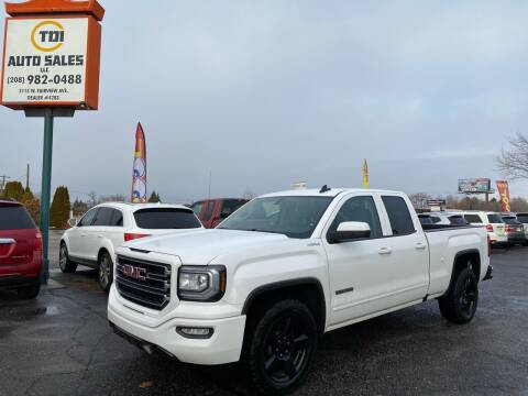 2017 GMC Sierra 1500 for sale at TDI AUTO SALES in Boise ID
