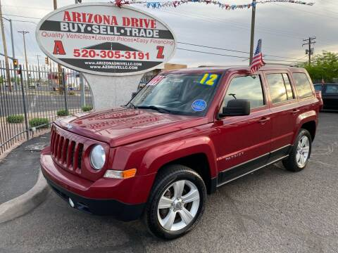 2012 Jeep Patriot for sale at Arizona Drive LLC in Tucson AZ