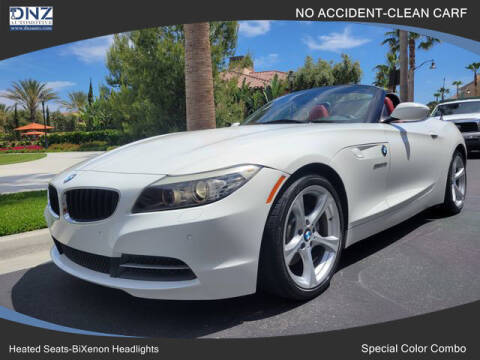 2013 BMW Z4 for sale at DNZ Auto Sales in Costa Mesa CA