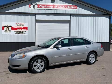 2007 Chevrolet Impala for sale at Highway 9 Auto Sales - Visit us at usnine.com in Ponca NE