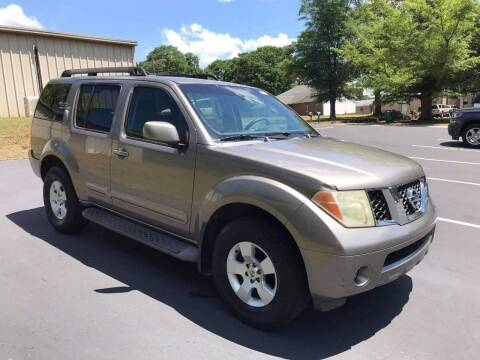 2006 Nissan Pathfinder for sale at Happy Days Auto Sales in Piedmont SC
