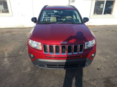 2011 Jeep Compass for sale at All State Auto Sales, INC in Kentwood MI