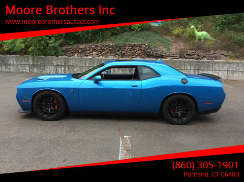 2016 Dodge Challenger for sale at Moore Brothers Inc in Portland CT