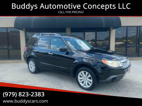 2011 Subaru Forester for sale at Buddys Automotive Concepts LLC in Bryan TX