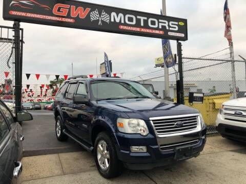 2007 Ford Explorer for sale at GW MOTORS in Newark NJ