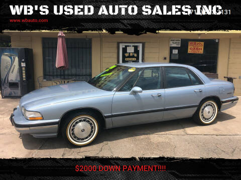 1994 Buick LeSabre for sale at WB'S USED AUTO SALES INC in Houston TX