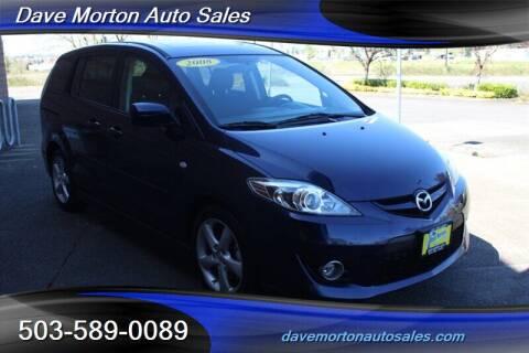 2008 Mazda MAZDA5 for sale at Dave Morton Auto Sales in Salem OR