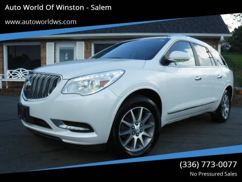 2017 Buick Enclave for sale at Auto World Of Winston - Salem in Winston Salem NC