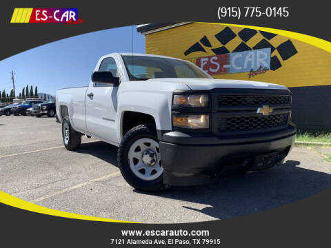 2014 Chevrolet Silverado 1500 for sale at Escar Auto - 9809 Montana Ave Lot in El Paso TX