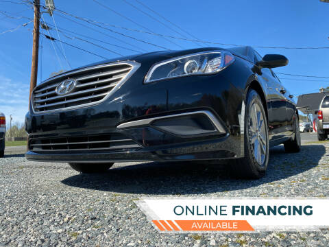 2017 Hyundai Sonata for sale at Prime One Inc in Walkertown NC