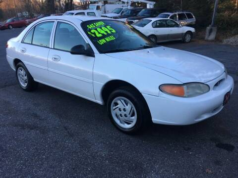 1998 Ford Escort for sale at Dave's Auto Connection LLC in Etters PA