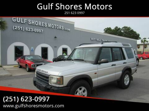 2003 Land Rover Discovery for sale at Gulf Shores Motors in Gulf Shores AL