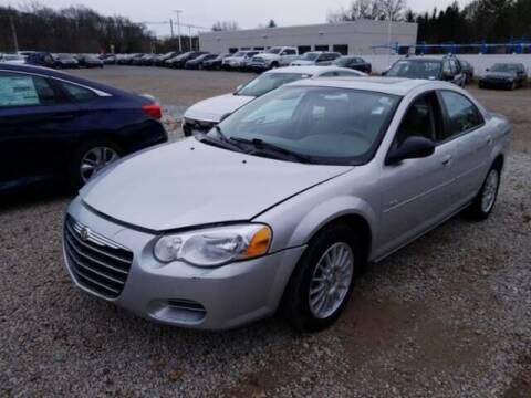 2005 Chrysler Sebring for sale at Cj king of car loans/JJ's Best Auto Sales in Troy MI