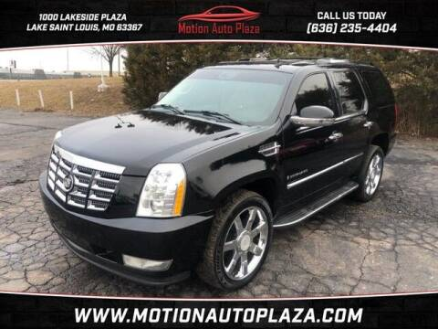 2007 Cadillac Escalade for sale at Motion Auto Plaza in Lakeside MO