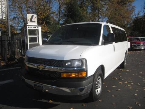 2018 Chevrolet Express Passenger for sale at LULAY'S CAR CONNECTION in Salem OR