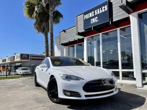 2013 Tesla Model S for sale at Prime Sales in Huntington Beach CA
