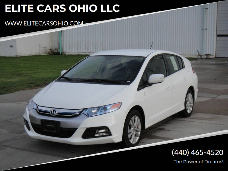 2014 Honda Insight for sale at ELITE CARS OHIO LLC in Solon OH