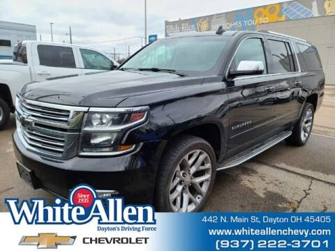 2016 Chevrolet Suburban for sale at WHITE-ALLEN CHEVROLET in Dayton OH